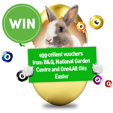 Prizes to get you hopping with egg-citement!