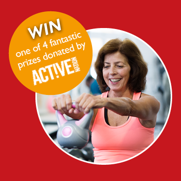 WIN 1 of 4 amazing prizes this New Year thanks to Active Nation